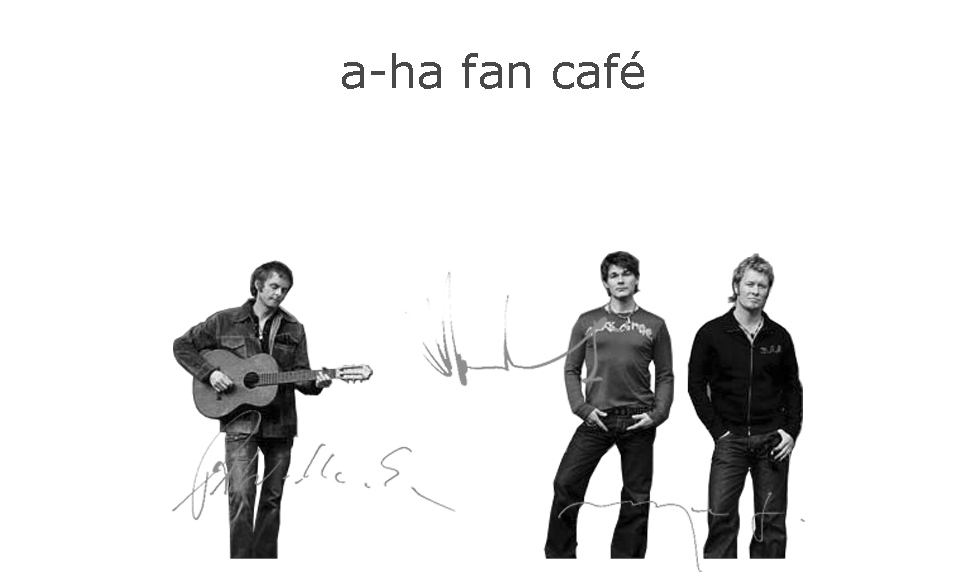 a-ha fan cafe