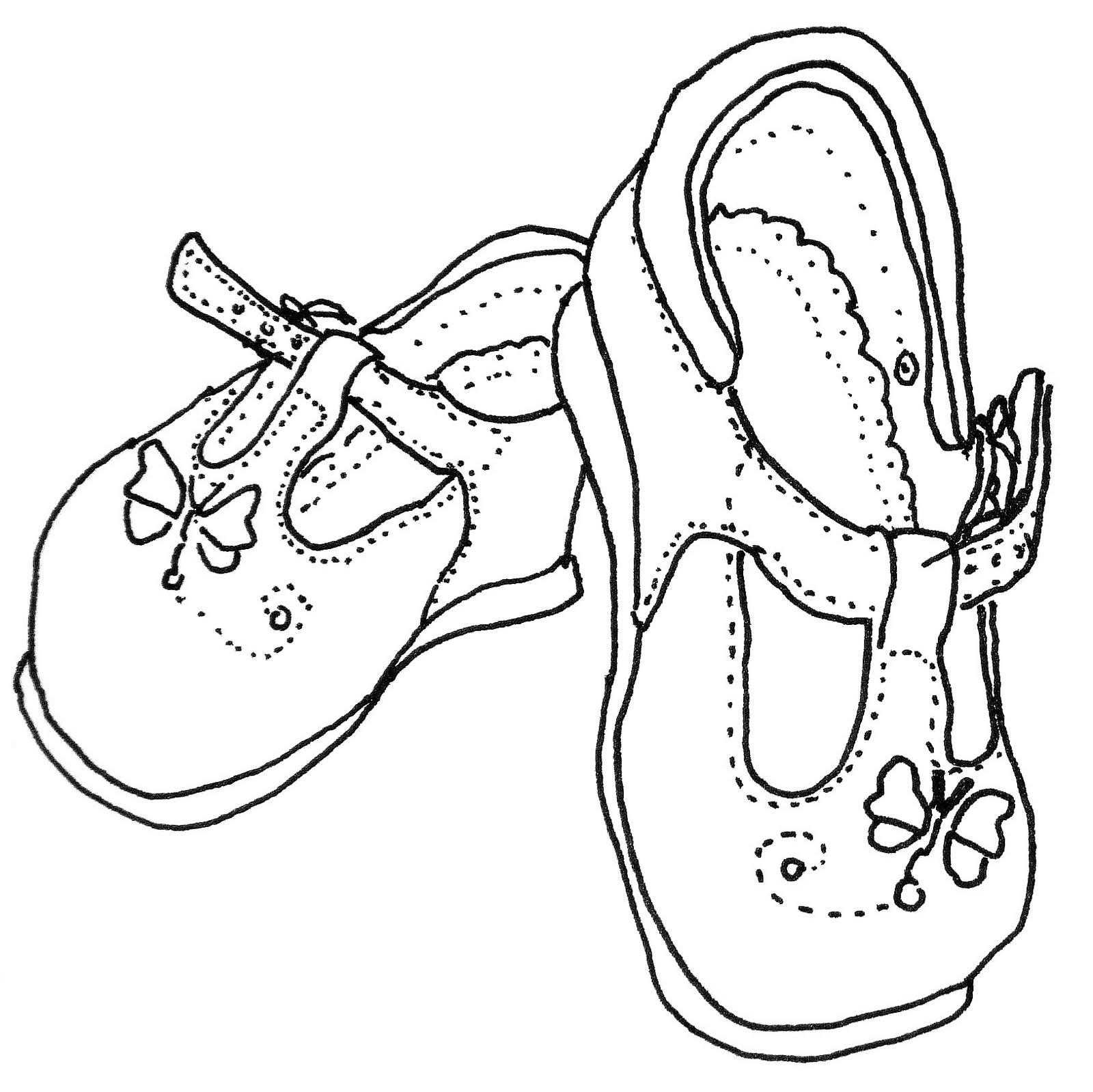Line Drawing Shoes : Easy to draw shoes related keywords