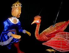 O pássaro de fogo, no teatro Elis Regina em São Bernardo do campo.