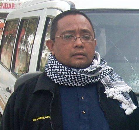 Dr. Jamnul Azhar Mulkan Pengalaman di Gaza