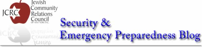 JCRC Security and Emergency Preparedness Blog