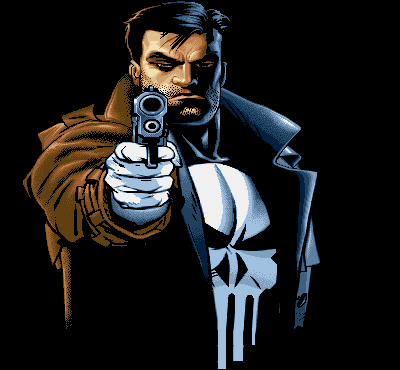 punisher says smile imagenes de superheroes