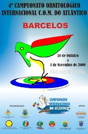 4º Campeonato Ornitológico Internacional C.O.M do Atlântico
