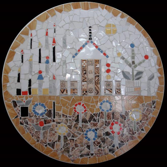 Mosaico - sem título (diâmetro=90cm)