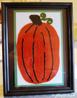 http://www.aglimpseinsideblog.com/2010/10/pumpkin-yarn-art-tutorial.html
