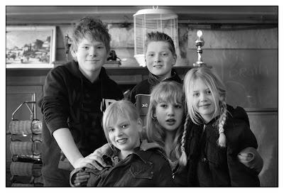 Alternatieve familiefoto