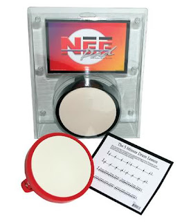 Drum Gear - Cannon Nee Pad Black Drum Practice Pad