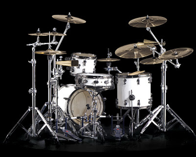 Sonor Drum Set - SQ2 Set in Solid White