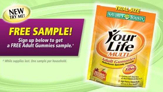 Free Sample-Nature's Own Adult Gummy Vitamins