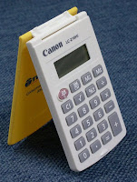 FOLD CANON CALCULATOR