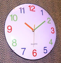 slim wall clock