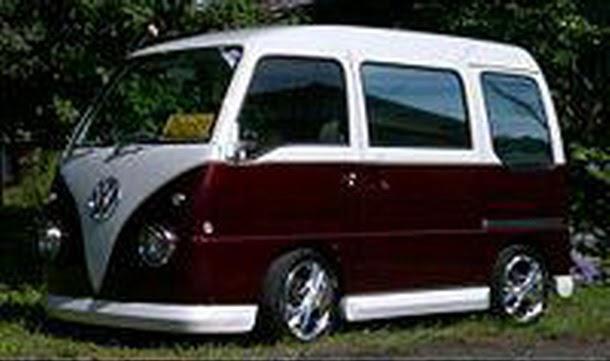 VW Bus Replica Based On Minuscule Turbocharged Subaru