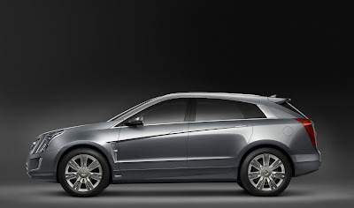 CadillacPRV 04 Cadillac Provoq Compact Fuel Cell SUV Concept Photos