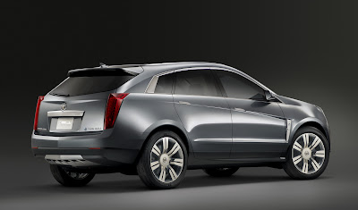 CadillacPRV 05 Cadillac Provoq Compact Fuel Cell SUV Concept Photos