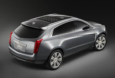 CadillacPRV 11 Cadillac Provoq Compact Fuel Cell SUV Concept Photos