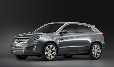CadillacPRV 06 Cadillac Provoq Compact Fuel Cell SUV Concept Photos
