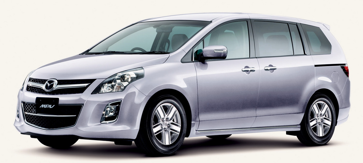 MMPV 8 Mazda Launches Facelifted MPV In Japan