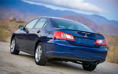 Galant09 1 Chicago Preview: 2009 Mitsubishi Galant Facelift