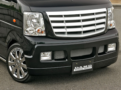 Carscoop DAMD SZ 7 DAMD: Mini Shot Suzuki want's to be an Escalade