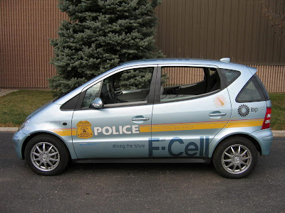Carscoop Mercedes FC 6 California gets the world's first Fuel Cell powered Firefighter Vehicle based on the Mercedes A Class