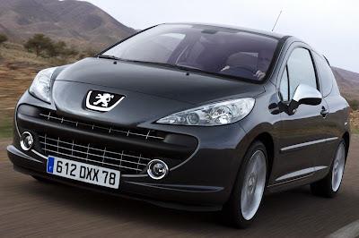 Carscoop 207RC 50 Geneva Preview: Peugeot 207 RC 1.6 Turbo 175Hp