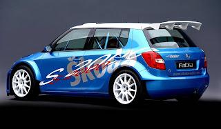 Carscoop S2000Fabia 2 Skoda Fabia S2000