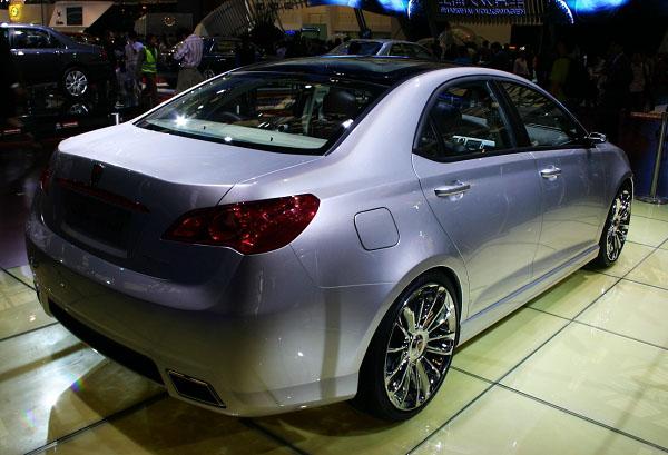 Car Reviews Roewe W2 Shanghai Concept Previews Roewe S