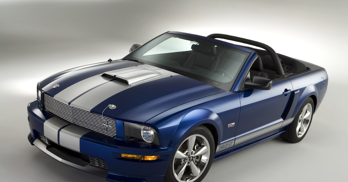 Hertz Auto Sales >> 2008 Ford Shelby GT Coupe & Convertible - Official