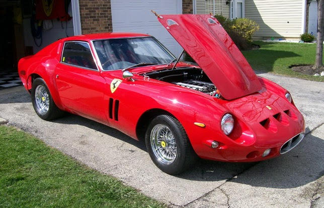 Ferrari 250 Gto Replica Based On A Nissan 280z With A Bmw