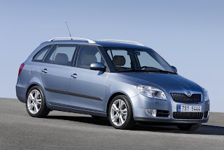 Carscoop FabiaComb 0000007 2008 Skoda Fabia Combi  Estate New Images & Details Released