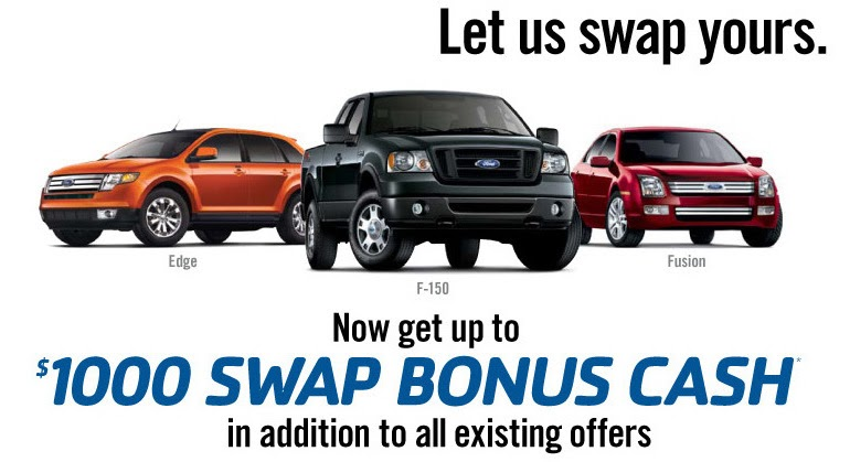 Ford Offers 1 000 Rebates In Addition To Existing Incentives
