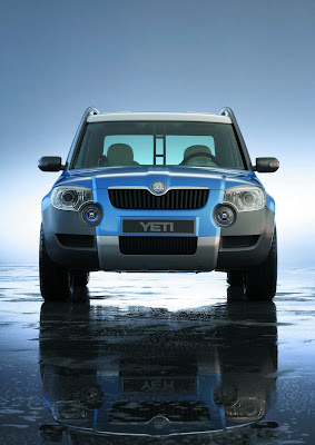 Carscoop SkodaYetiC 5 resize Skoda Confirms Yeti SUV Production Starts In 2009