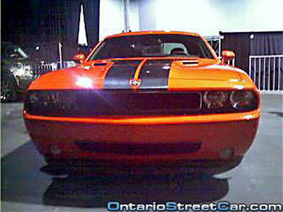 2008 Dodge Challenger Production Version Uncovered!