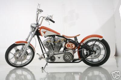 eBay: Matthew McConaughey Auctioning Texas Longhorn National Championship Tribute Bike