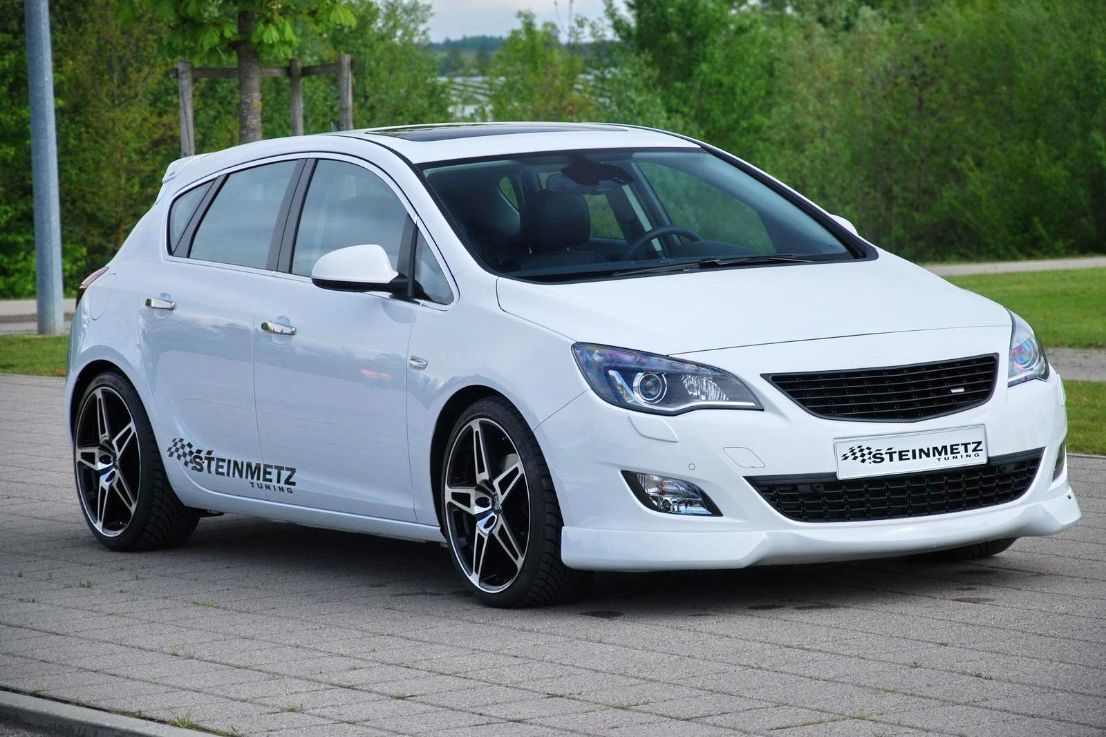 Steinmetz Spiffs Up New 2010 Opel Astra Carscoops