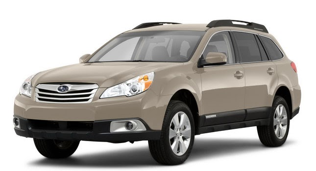 Subaru Legacy 3.6 R >> Subaru Issues Safety Recall for 2010 Legacy and Outback Models