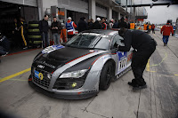 audi motorsport 100514 1370 Audi R8 LMS Dominates the Nürburgring Takes First Four Grid Positions for 24 Hour Race Photos