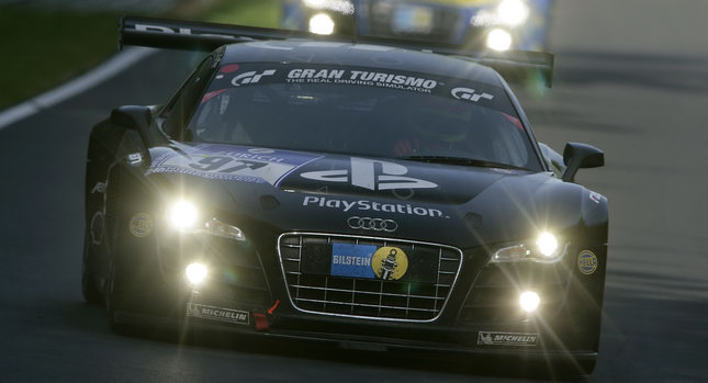 Audi R8 LMS Nurburgring 0 Audi R8 LMS Dominates the Nürburgring Takes First Four Grid Positions for 24 Hour Race Photos
