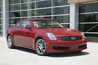 Infiniti G35 1 Infiniti Recalling 134,215 G35 Sedan and Coupe Models Over Airbag Issue
