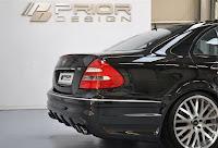 Prior Design E Class 3 Prior Design Fattens up the Mercedes Benz E Class W211