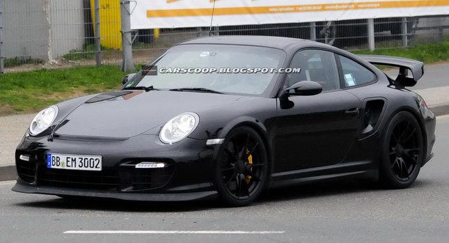 2011 Porsche 911 GT2 RS 00 SPY SHOTS: New Hardcore Porsche 911 GT2 RS Could get 600HP Photos