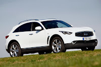 Infiniti FX30d 2 Infiniti Confirms UK Pricing for its First Diesel Model, the FX30d Photos