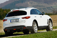 Infiniti FX30d 5 Infiniti Confirms UK Pricing for its First Diesel Model, the FX30d Photos