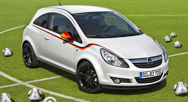 Opel Corsa Footbal Edition 0 Opel Releases Corsa Football Championship Edition Dedicated to the German National Team