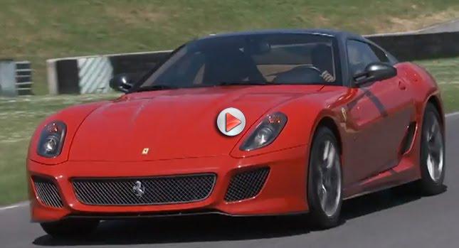 Ferrari GTO 599 VIDEOS: Ferraris Chief Tester Takes New 599 GTO to Mugello Race Track