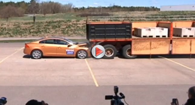 """EPIC FAIL: 2011 Volvo S60 """"Collision Warning with Auto ..."""
