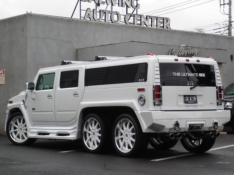 Japan's 213 Motoring Builds the Ultimate Six Hummer H2
