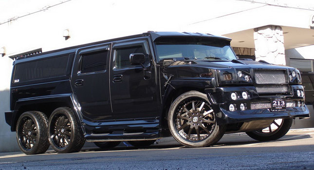 Hummer H2 Ultimate Six 0 Japans 213 Motoring Builds the Ultimate Six Hummer H2