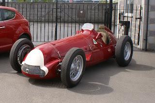 Alfa Romeo 158 2 Iconic Alfa Romeo 158 F1 Racer Meets MiTo QV Photos
