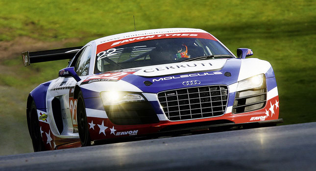 Audi Motorsport 00 Seven Audi R8 LMS Racers to Compete in 24 Hours of Nürburgring Photos